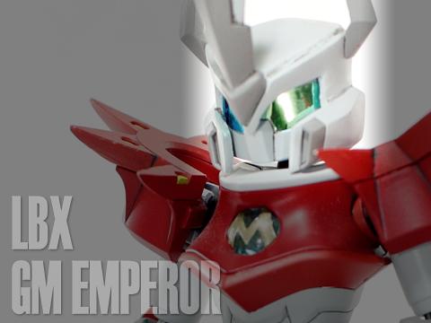 LBX GMエンペラー(『LBX ジ・エンペラー』改造) 完成
